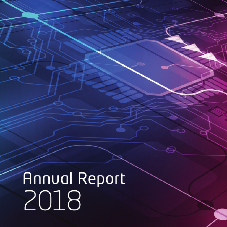 Annual report 2018 (cover)
